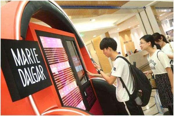 上海の口紅自販機が流行りすぎててヤバい